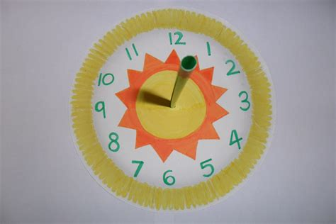 How To Make A Sundial With A Paper Plate - make your own sundial explorers world