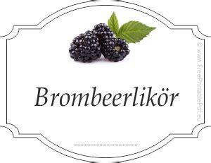 Etiketten Erstellen Kostenlos by Gratis Etiketten Vorlagen F 252 R Brombeerlik 246 R Pdf Drucken
