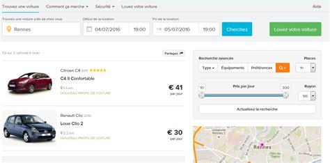 Location Porte Voiture Rennes by Covoiturage Et Location De Voiture Entre Particuliers Sur