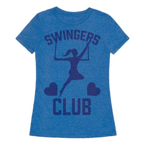 trapeze swing club human trapeze swingers club clothing tee
