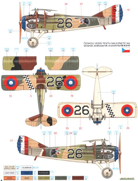 spad 13 color profile and paint guide