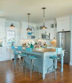 Turquoise Kitchen Island 18 Brilliant Kitchen Bar Stools That Add A Serious Pop Of