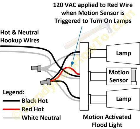 heath motion sensor lights wiring diagram lighting