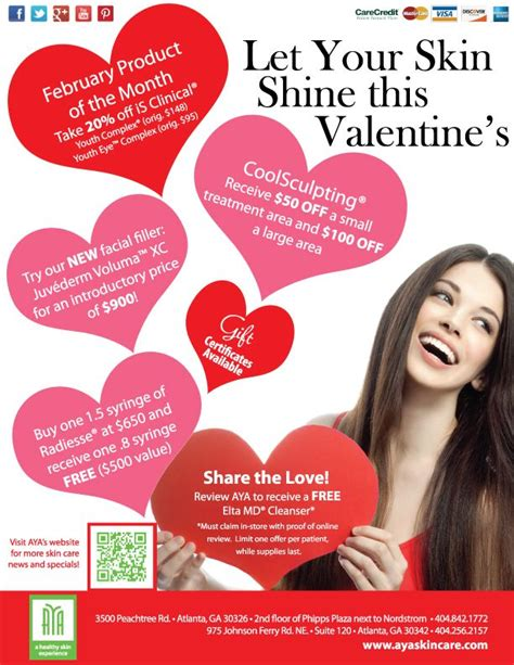 valentines spa specials 17 best images about past specials events on