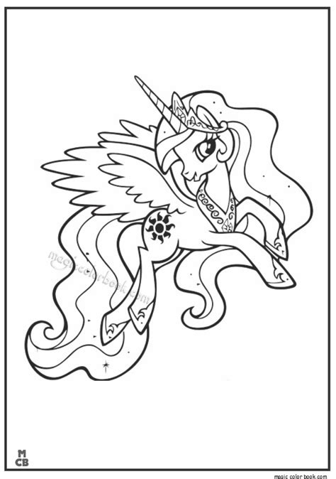 printable my little pony friendship is magic princess