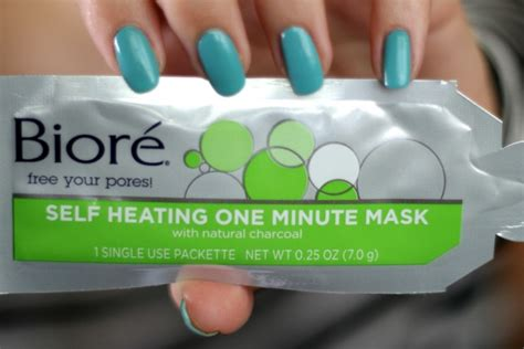 Masker Komedo Biore biore self heating one minute mask review