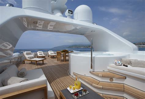 boat supplies fort lauderdale superyacht go spa pool sundeck area yacht charter