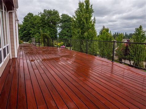 best decking material waterproof composite decking material creates a