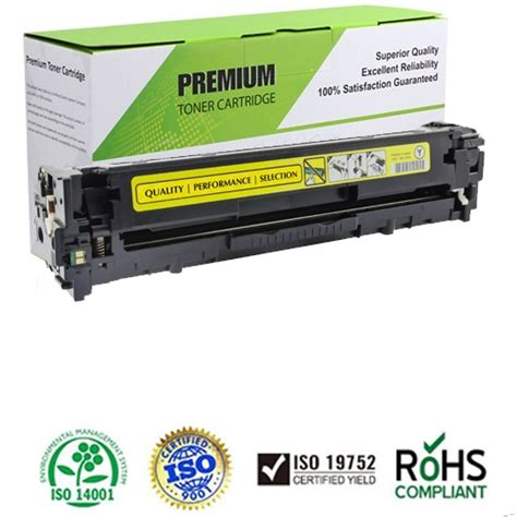 Toner Cartridge Compatible Hp 128a For Use In Cp1525 Ce Murah compatible 128a yellow toner cartridge ce322a