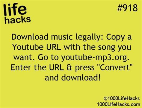 download mp3 from youtube hack 1000 ideas about music download on pinterest life hacks
