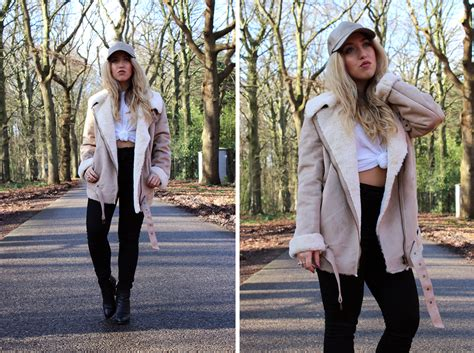 Jacket New York Jaket Ootd of the day new shearling jacket like