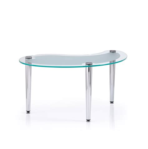 frosted glass coffee table glass coffee table sleek coffee table in various sizes