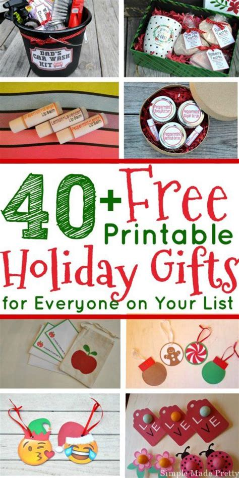 christmas gift ideas for anybody 40 free gift ideas that ll save you so much money simple made pretty