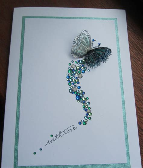 Flying Butterfly Card Template by Best 25 Diy Birthday Cards Ideas On Birthday