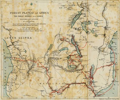 travels in the interior districts of africa classic reprint books file map livingstone travels africa jpg