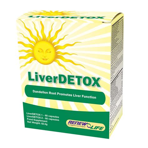 Renew Liver Detox Ingredients by Liverdetox Renew