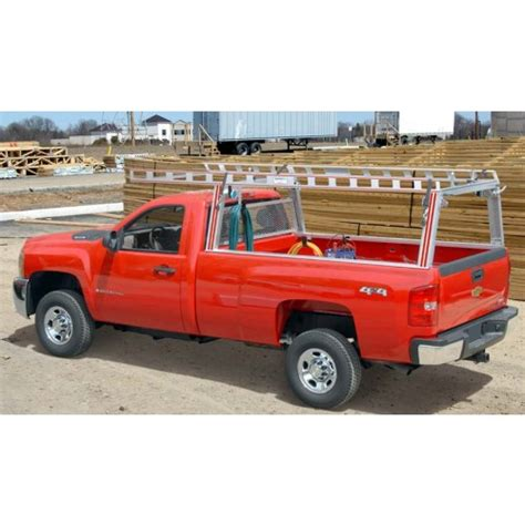 Up Truck Ladder Rack by System One Contractor Rig Truck Ladder Rack