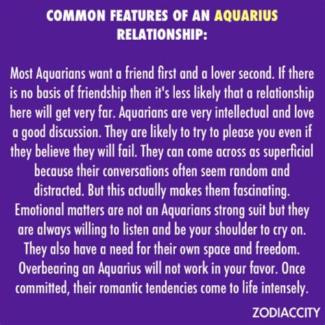 aquarius in relationships pisces aquarius capricorn