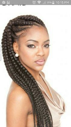 Large Braided Hair Styles | 1000 images about best braids on pinterest big cornrows