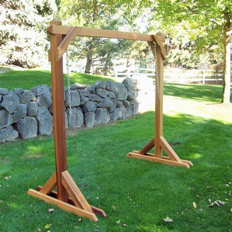 diy swing chair frame build a frame swing stand plans diy free king
