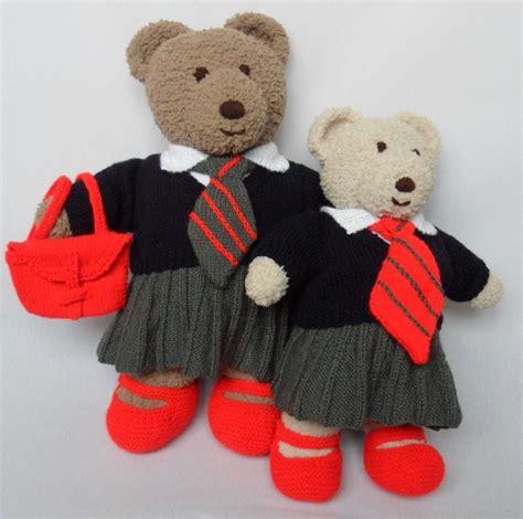 pattern teddy bear clothes cuddle and snuggle teddy bear clothes school uniform