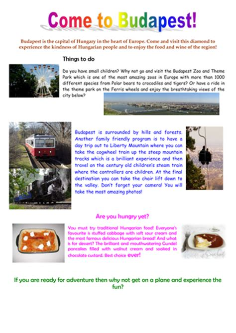 travel brochure template ks2 differentiated persuasive brochures by endimacko