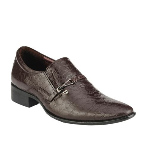 delize brown formal shoes price in india buy delize brown