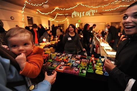 weaver christmas craft show arts crafts shows sales 2015 the seattle times