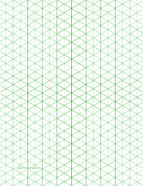 print isometric graph paper this letter sized isometric graph paper has half inch
