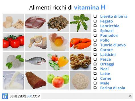 in quali alimenti si trova la vitamina c vitamina h dove si trova propriet 224 della biotina dosi e