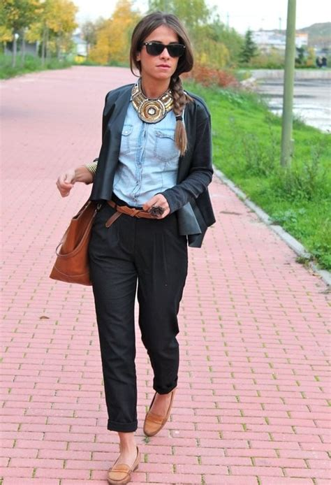 cigarette loafers black cigarette trousers looks loafers