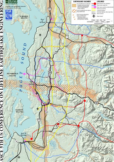 seattle earthquake zone map seattle s faults maps that highlight our shaky ground