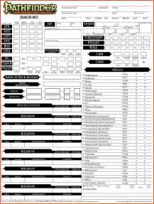 10 pathfinder character sheet pdf sponsorship letter