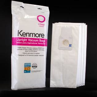 Kenmore Vaccum Bags by Kenmore 53294 6 Pk Type O Hepa Vacuum Bags For Upright