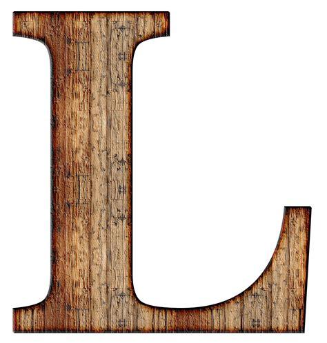 a wooden l wooden capital letter l transparent png stickpng