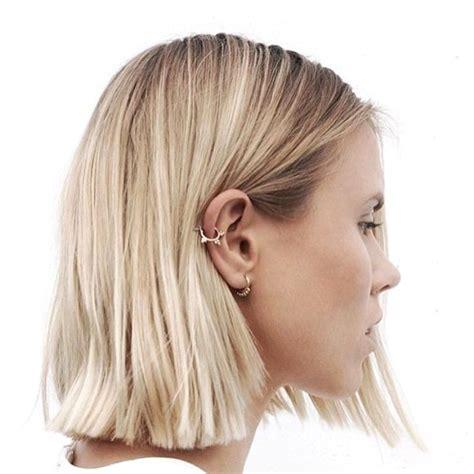 hair style for minimun hair on scalp 25 best ideas about long blunt haircut on pinterest