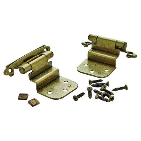 3 8 inch inset cabinet hinges amerock 3 8 inch inset hinge 2 1 16 inch width burnished
