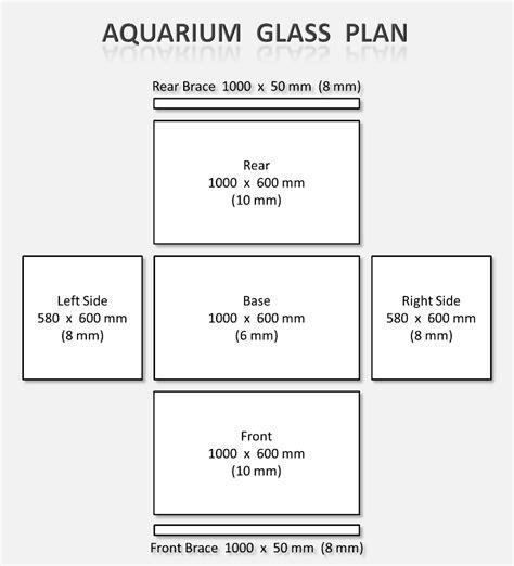 aquarium design glass thickness seth deghaye diy cichllid aquarium