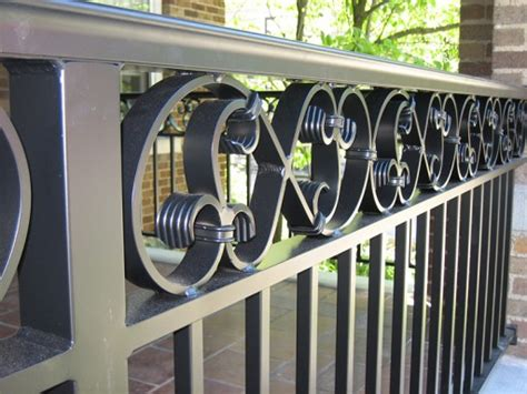 Sanding Handrails Aluminum Railings Old Dutchman S Wrought Iron Inc