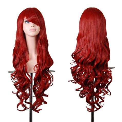 Base Wig Brown 80cm Wig Brown Lurus Top 10 Best Curly Wigs Wavy Wigs For Hair