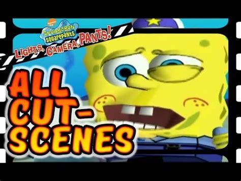 spongebob squarepants: lights camera pants! all cutscenes