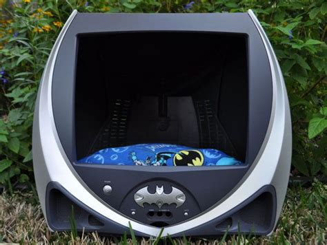 batman dog bed batman tv pet bed by groovypetbeds on etsy 179 00