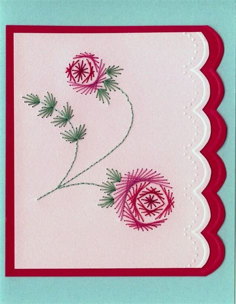 pattern paper greeting card 22 luxury embroidery on cards makaroka com