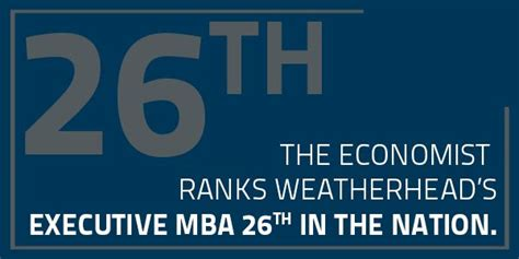 Cleveland Ohio Mba In Organizations by Cleveland Clinic Weatherhead Executive Mba Weatherhead