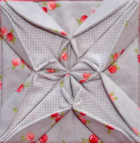 Origami With Fabric - 162 best images about origami quilts on