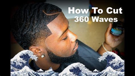 how to do a fish hook part haircut barber tutorial how to cut 360 waves with a part hd
