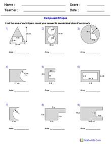 area of compound shapes worksheet thedesigngrid