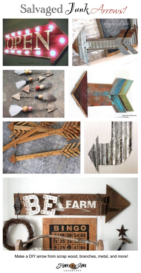 funky diy home decor diy arrows for home decorfunky junk interiors