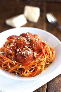 skinny spaghetti and meatballs pinch of yum