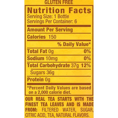 arizona iced tea facts aboutube iced tea nutrition facts besto
